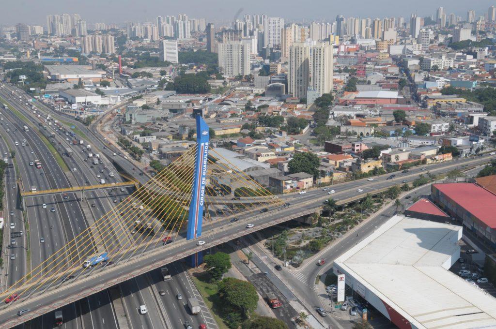 Vista aérea da Cidade de Guarulhos